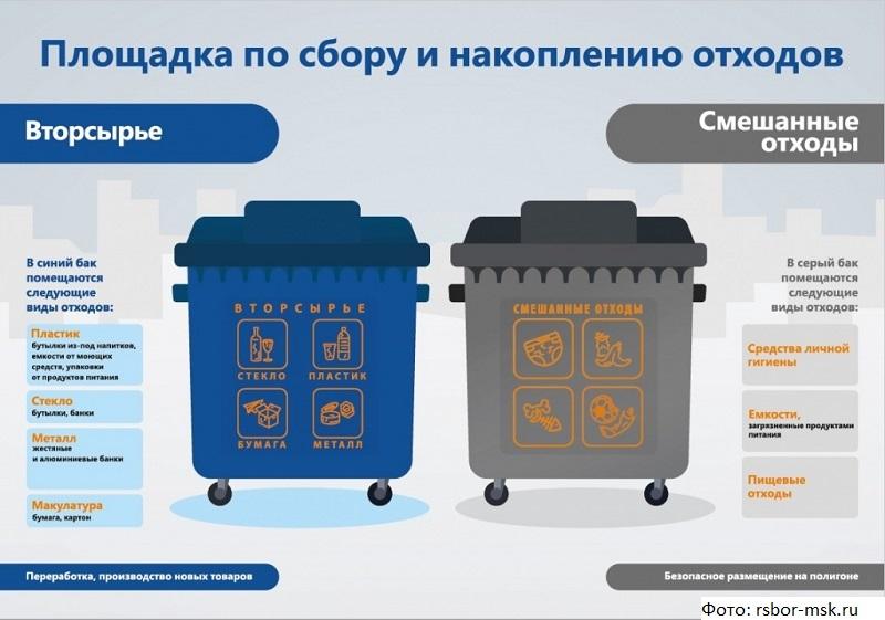 В Подмосковье подвели первые итоги введения раздельного сбора отходов