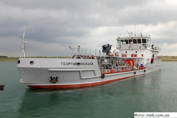 На Байкале появился танкер для сбора и утилизации отходов с кораблей