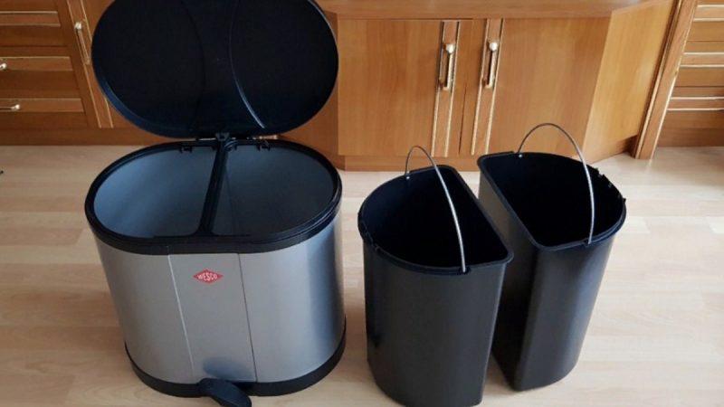 Все о мусорных ведрах — описание, разновидности для кухни и туалета