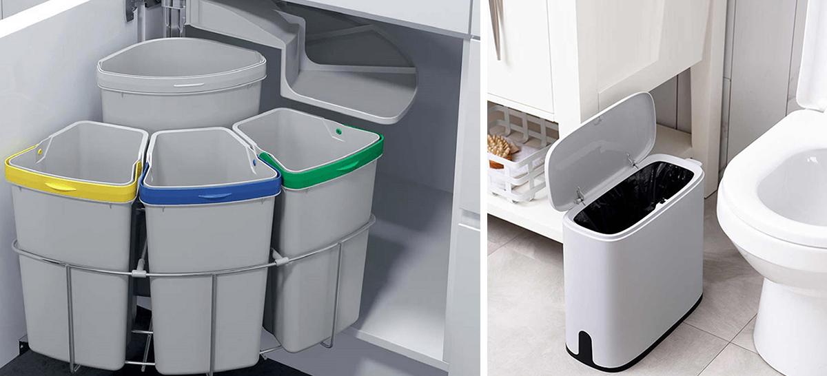 Ведра под мусор для кухни и туалета