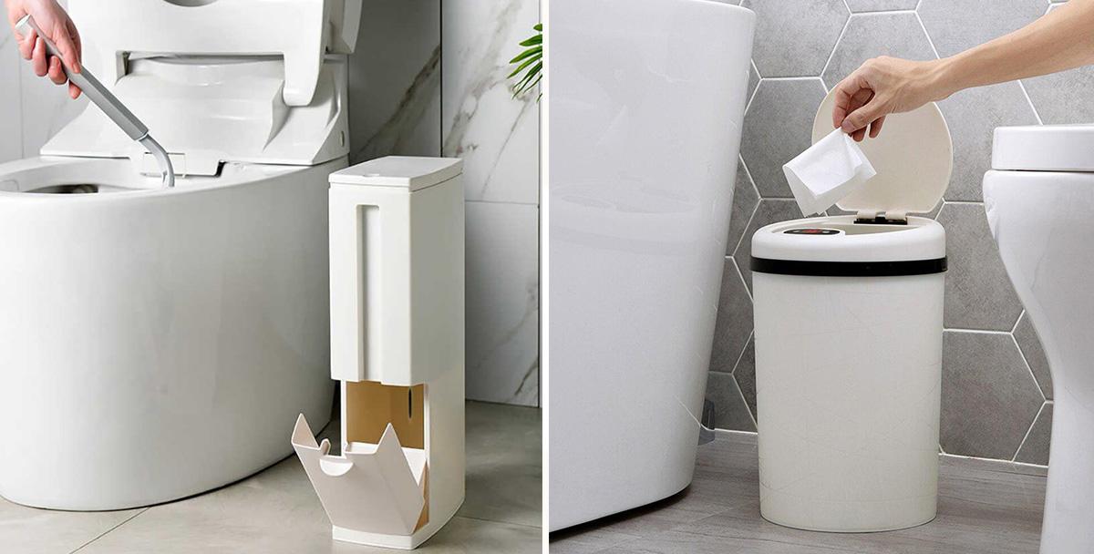 Туалетные ведра под мусор