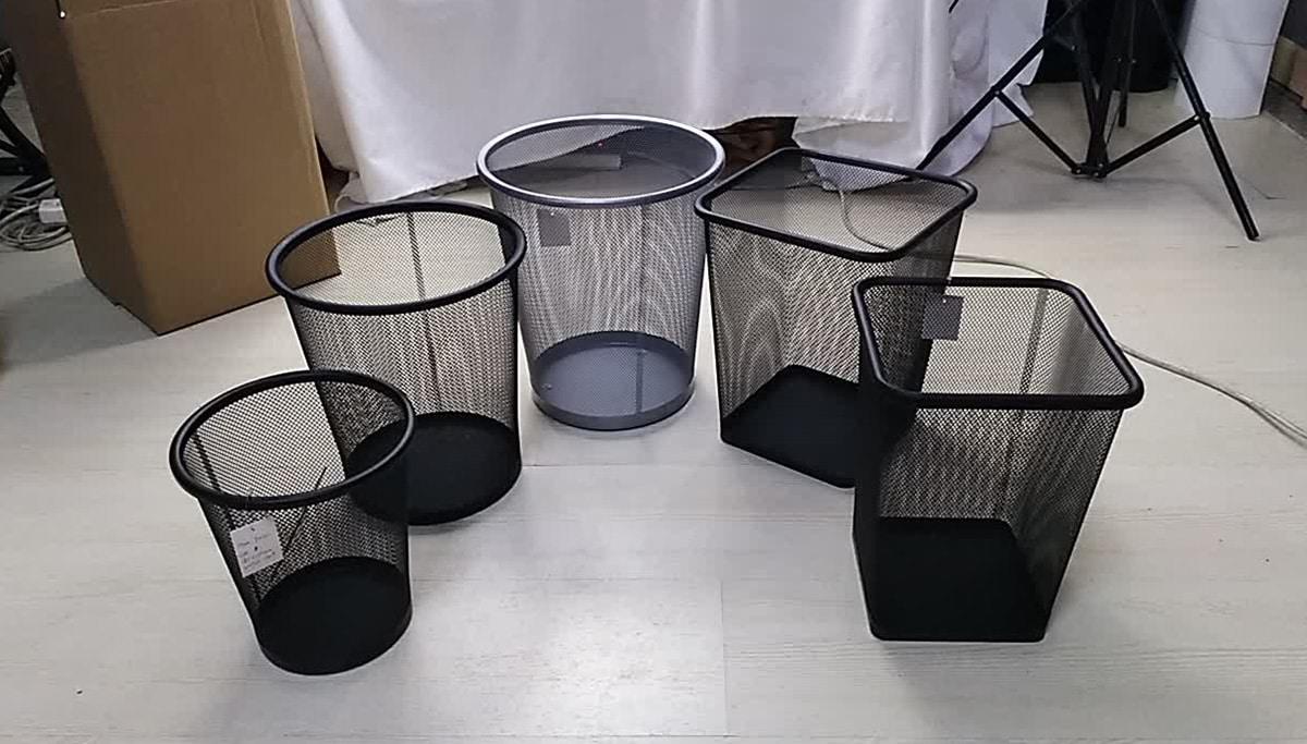 Мусорные корзины для офиса — описание и разновидности
