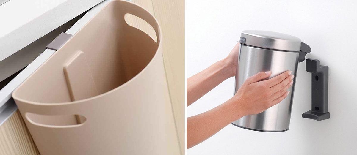 Настенные емкости для мусора