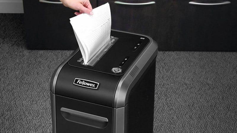 Прибор для измельчения бумаги