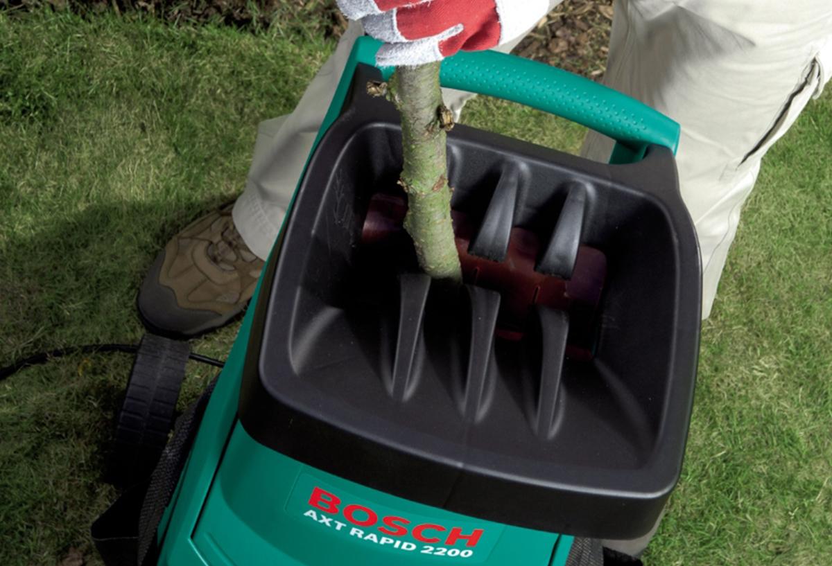 Электрический садовый измельчитель