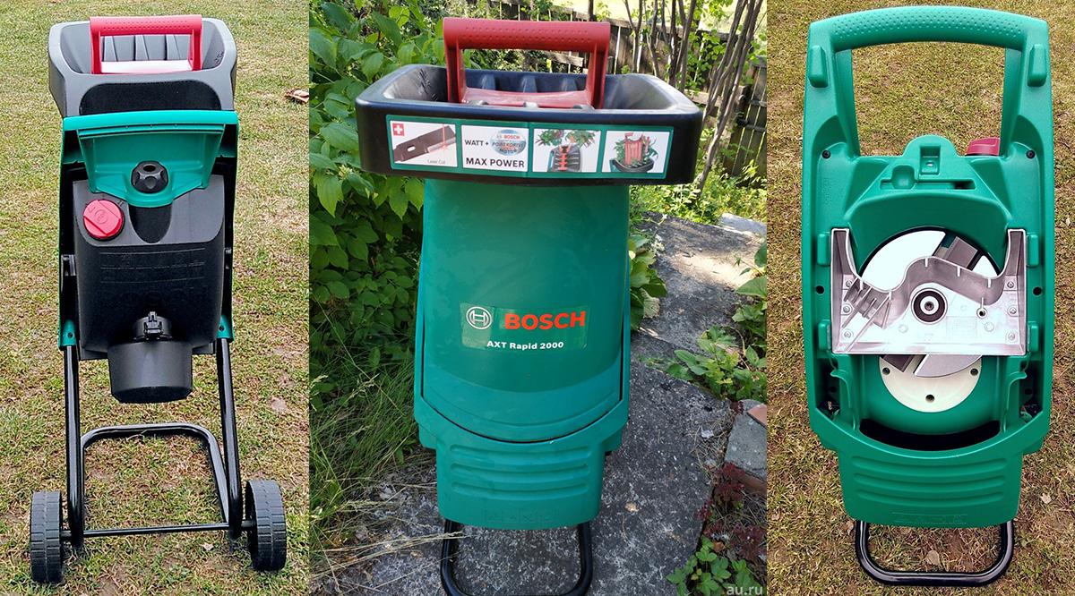 Популярный измельчитель Bosch AXT 2000 RAPID