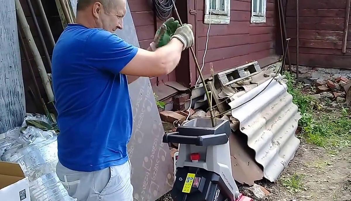 Всё о садовом измельчителе Зубр — принцип работы, как пользоваться
