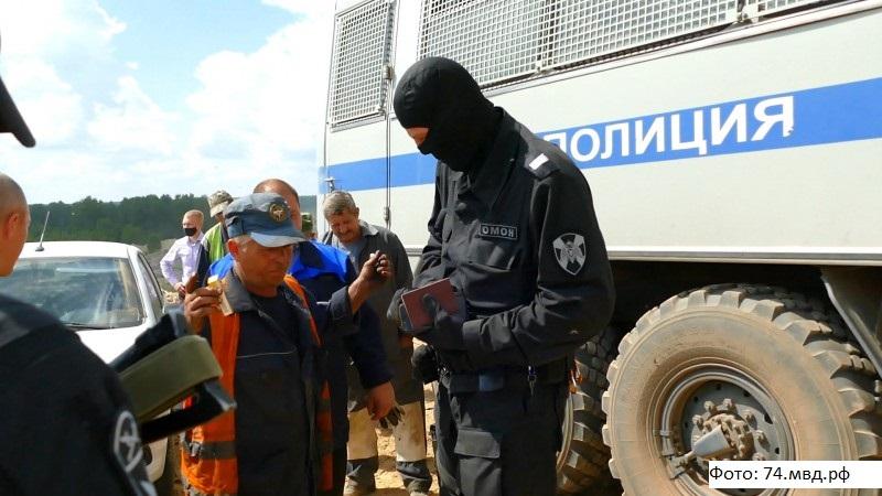 На полигоне ТКО под Челябинском полиция обнаружила мигрантов-нелегалов