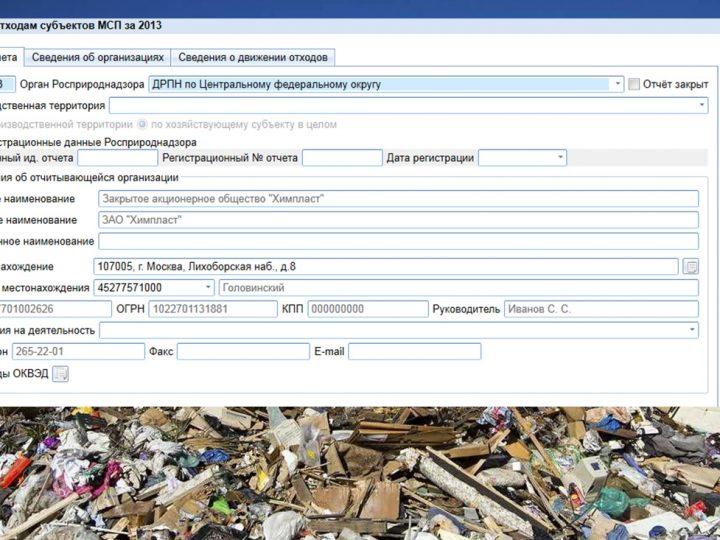 Отчет МСП по экологии