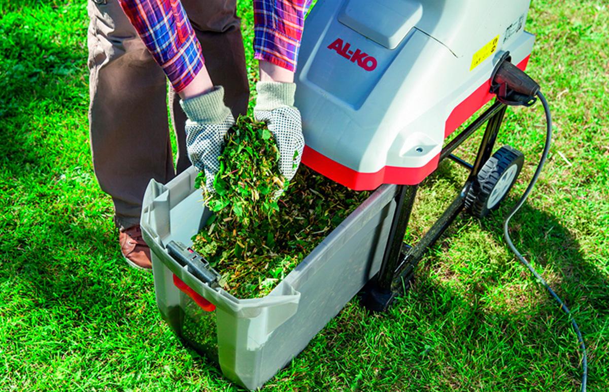 Садовый измельчитель травы