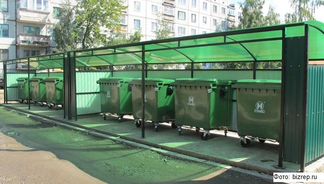В Ленинградской области создают единый стандарт для мусорных площадок
