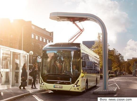 Батареи электрифицированных автобусов Volvo будут использовать повторно