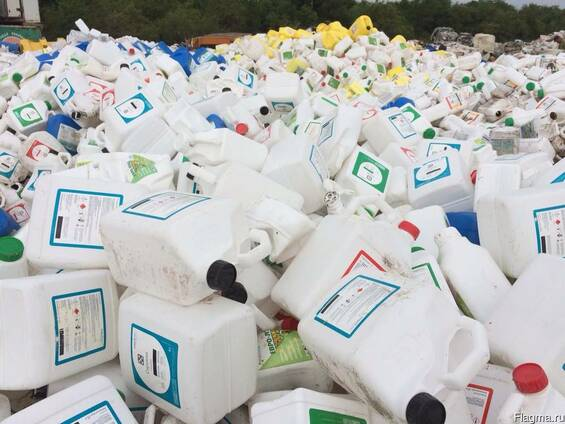 В Оренбурге будут перерабатывать пластиковую тару из-под ядохимикатов