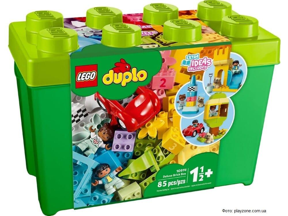 LEGO отказывается от пластиковой упаковки для конструкторов