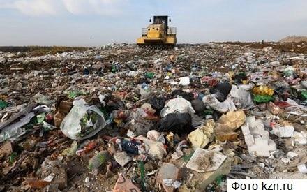 В Казани переполненный мусорный полигон отравил жизнь целому району