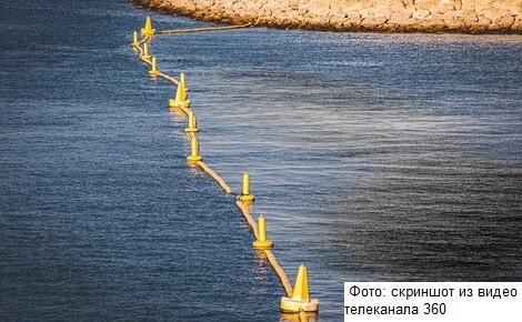 В бухте Находка обнаружили разлив нефти