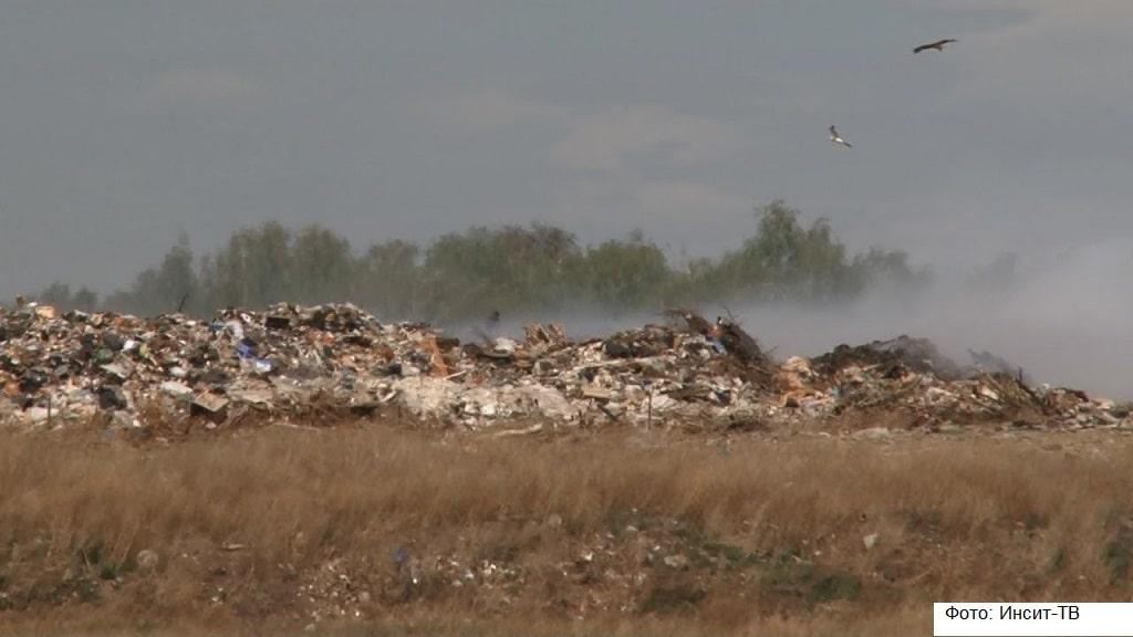 Под Челябинском жители выступают против расширения мусорного полигона