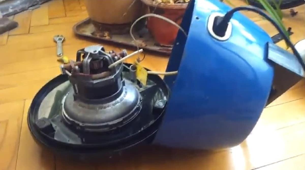 Искрение щеток электродвигателя пылесоса — почему происходит