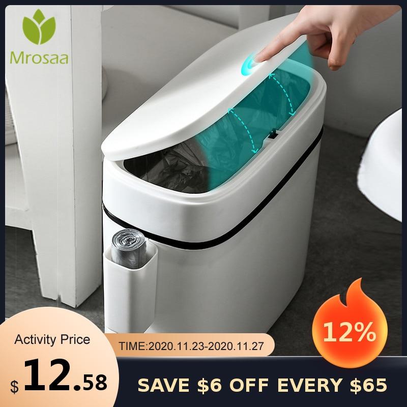 12л большая емкость мусорных банок кухонный Туалет держатель для мусорного мешка мусорное ведро трещина пресс типа мусорное ведро для ванной комнаты|Мусорные баки| | АлиЭкспресс