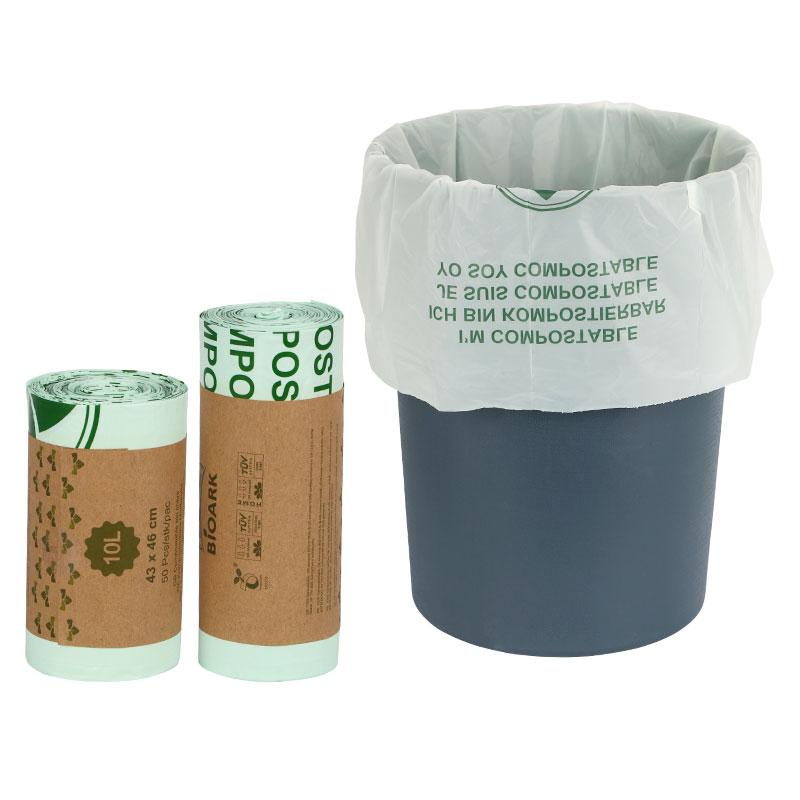 25/50 шт., 100% биоразлагаемых мусорных мешков|Мешки для мусора| | АлиЭкспресс