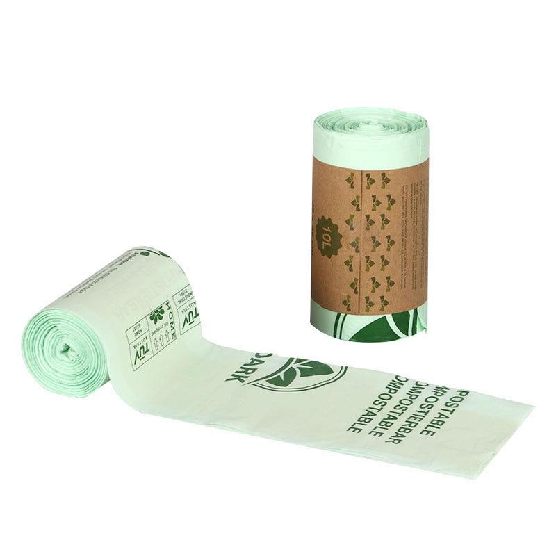 Биоразлагаемые кухонные мешки для мусора, 25/50|Мешки для мусора| | АлиЭкспресс