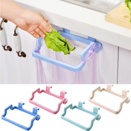 Новые поступления мусорный мешок для мусора стойка прикрепить держатель шкаф двери кухни ванной комнаты Аксессуары|Мусорные баки| | АлиЭкспресс