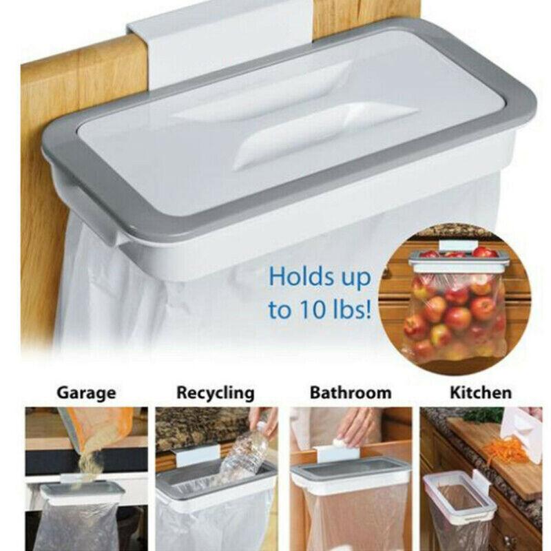 Пластиковая дверь задняя корзина для мусора кронштейн для стойки подвесной держатель для кухонной полки подвесной держатель для мусорного мешка подставка для кухонного шкафа|Мусорные баки| | АлиЭкспресс