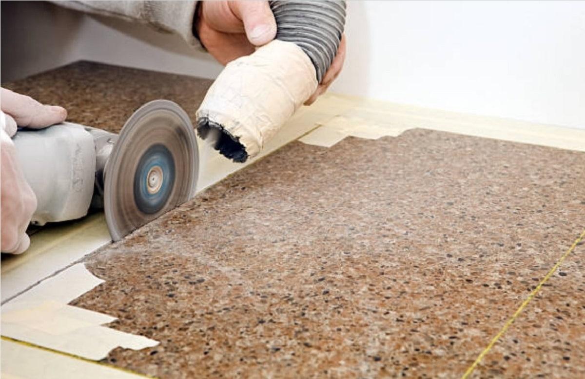 Использование строительного пылесоса