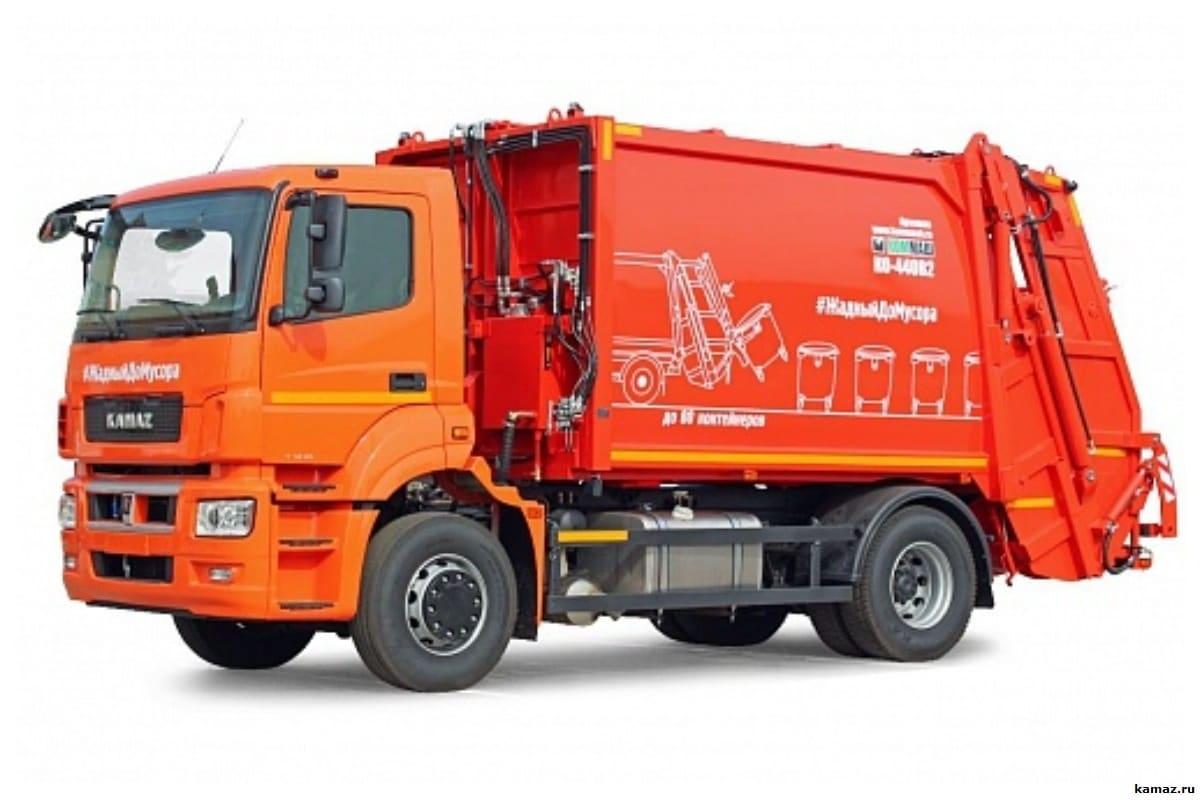 О мусоровозе КАМАЗ — как выглядит, габариты, тип загрузки