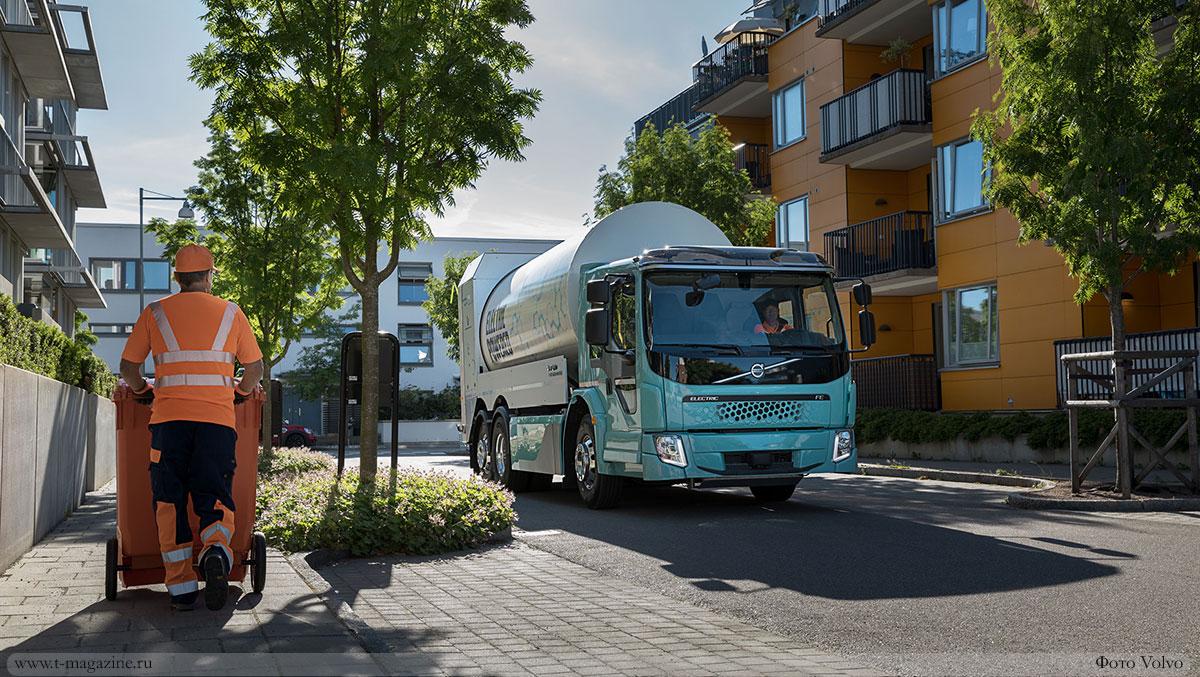 Volvo Group займётся переработкой аккумуляторных батарей