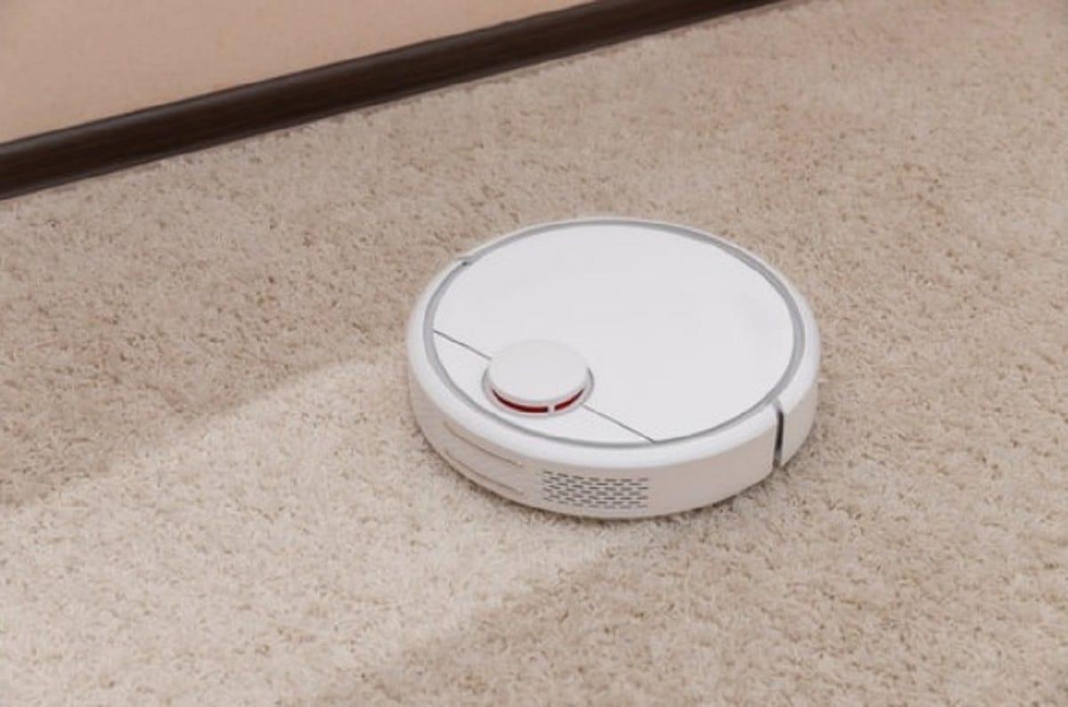 Использование робота-пылесоса для чистки ковров