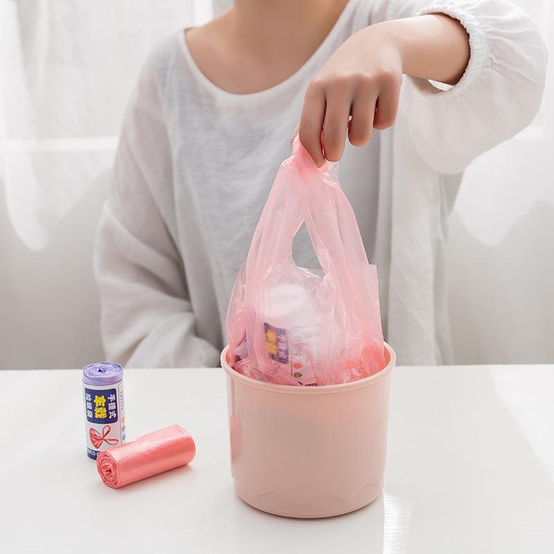 20 шт./рулон, 34x45 см, мини жилетка, одноразовые мусорные мешки для автомобильного стола, маленькие пластиковые пакеты, мешки для мусора|Мешки для мусора| | АлиЭкспресс