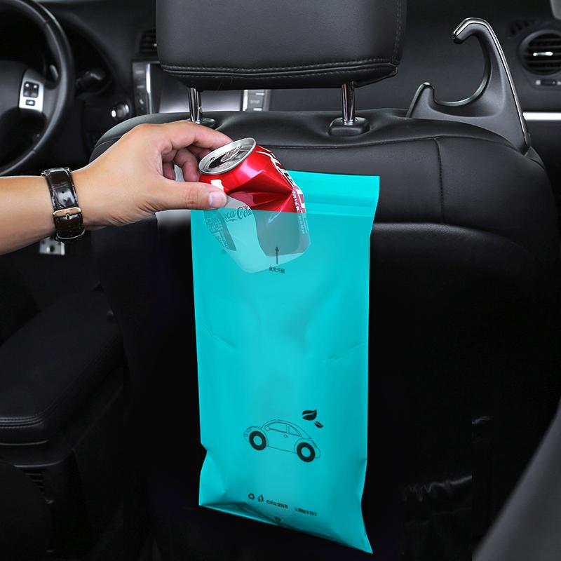 5 шт./1 партия, мешок для мусора одноразовая самоклеющаяся Авто биоразлагаемый мусор держатель мусора хранение мусора мешок для рвота сумки мусорные корзины для автомобилей|Мешки для мусора| | АлиЭкспресс