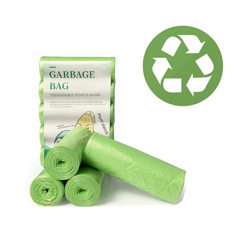Биоразлагаемые мешки для мусора, экологическая продукция, одноразовая корзина для мусора, корзина для мусора для дома и кухни, биоразлагаемая, хорошее домашнее хозяйство|Мешки для мусора| | АлиЭкспресс