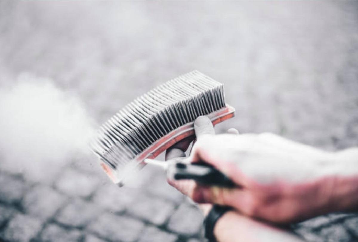 Грязный фильтр пылесоса