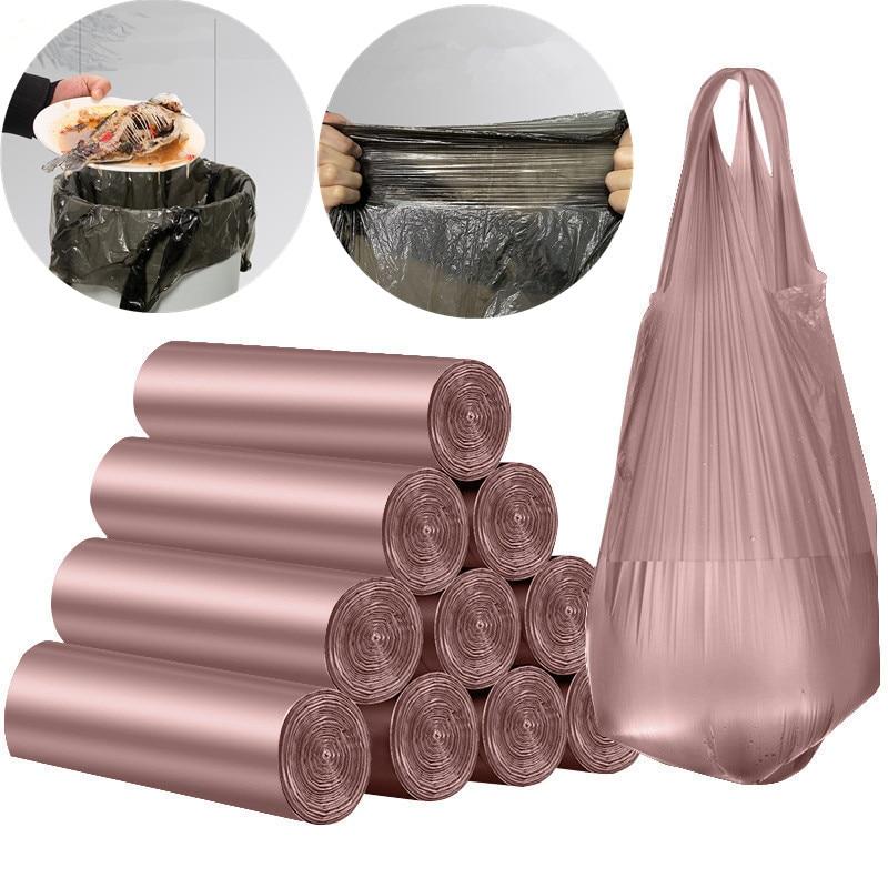Мешки мусорные большого объема, мешки мусорные для офиса, кухни, спальни, портативные прочные мешки для мусора|Мешки для мусора| | АлиЭкспресс