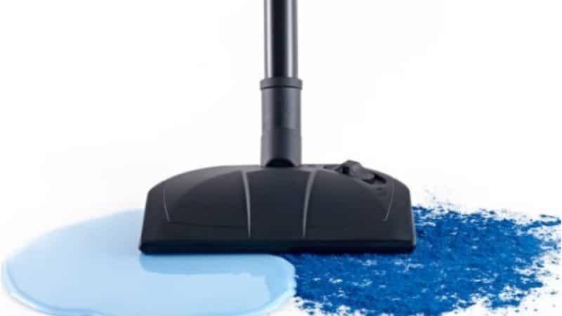 Использование моющегося пылесоса