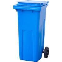Контейнер мусорный, 120 литров, синий